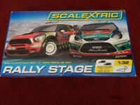 Boxed Rally Scaletrix includes 2 cars