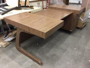 Vintage Modern Style Executive Desk