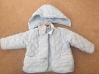 Baby blue jacket 6 months