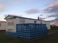 8 berth 3 bedroom caravan silversands Lossiemouth £300 wk