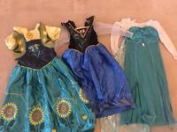 Fancy Dress - Frozen Dresses Bundle Age 5-6