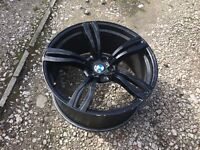 "BMW X5 or x6 22"" alloys only 3 and 1 different"