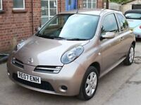 2007 Nissan Micra Activ 1.2 Metallic Beige 3 Door 56,000 Miles 2 Owners Air Con