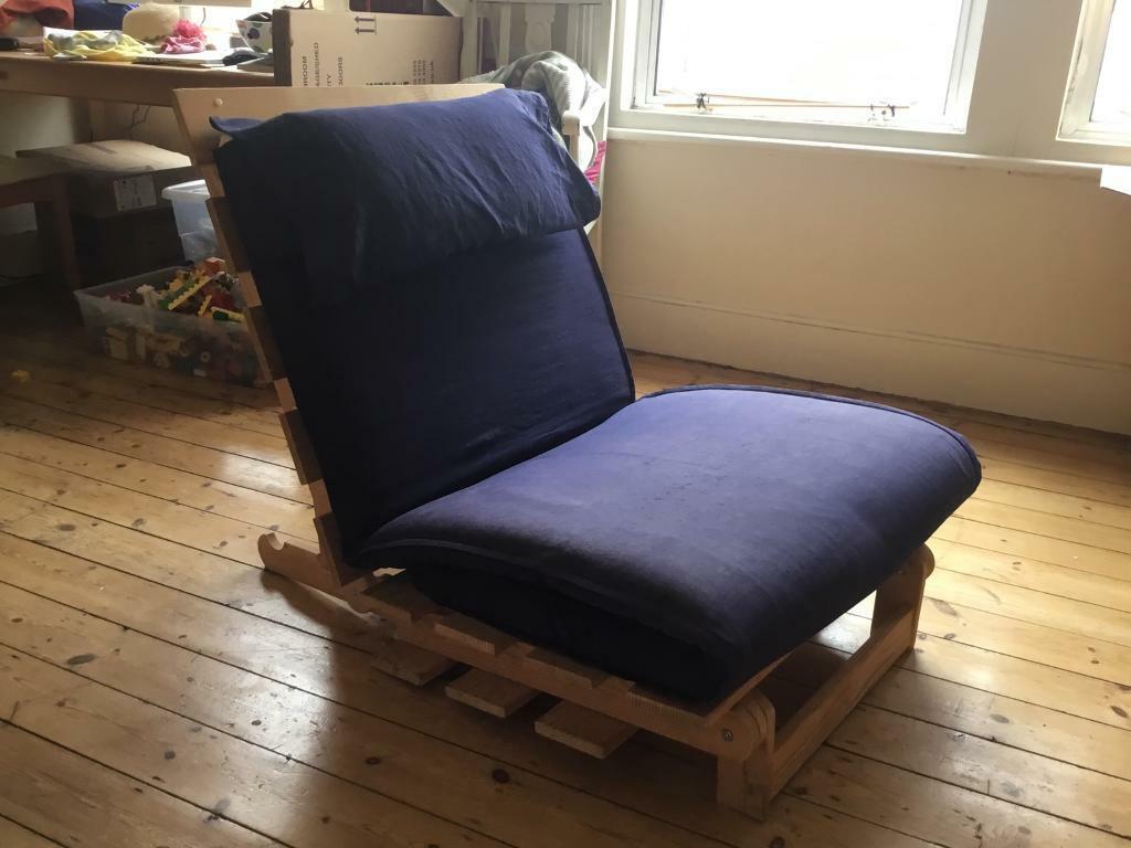 Single futon bed/ chair. Ikea Massun   in Camberwell ...