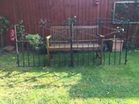 Wrought iron double gates GONE