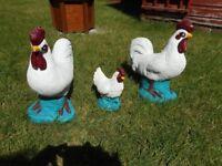 Chicken Garden Ornaments