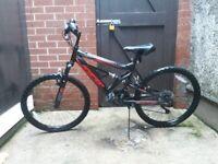 Hyper shocker suspension bike 24 inche