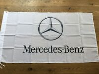 Mercedes Benz AMG workshop flag banner