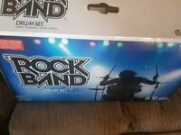 Nintendo wii Rock band, band in a box