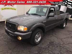 2009 Ford Ranger Sport, Extended Cab, Manual, 109,000km