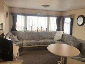 cheap 3 bedroom static caravans for sale at crimdon dene post code TS27 4BN sea views call ben today