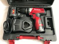Einhell TC-CD 12 Li cordless combi drill with two battery