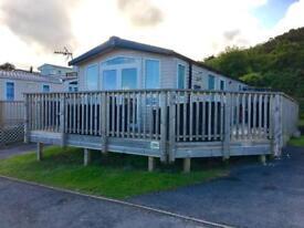 3 bedroom 2nd row static caravan for sale Lydstep Tenby
