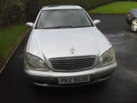 Mercedes s class w220 for spares or repair