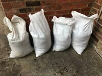 4 x bags of stoney top soil - FREE