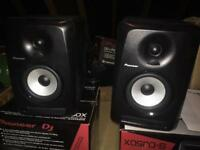 Pioneer s-dj50 x Dj monitors (pair) hardly used near mint condition
