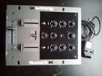 NUMARK M1 two channel mixer