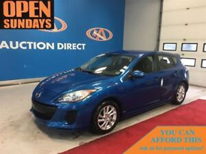 2012 Mazda MAZDA3 GS-SKY 6 SPEED! HATCHBACK! FINANCE NOW!