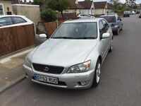 Lexus IS200 Lovely Reliable Car, Smooth Drive, MOT Expires November, 6 Speed Manual, Electric Seats