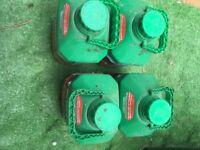 4x Cuprinol fence paint