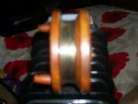 wooden fishing reel for sale £25.00 ono