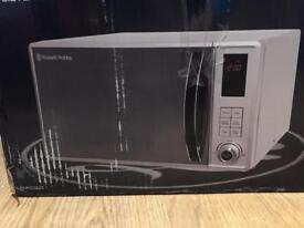 Russell Hobbs microwave - excellent condition, one year old