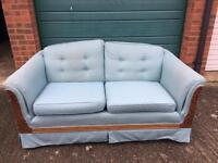 Good condition 2 seater vintage sofa