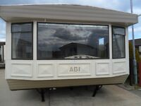 Static Caravan For Sale Sited on Pitch