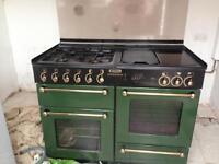 Rangemaster 1110 double gas oven