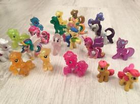 My Little Pony collection figurines