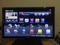 """37"""" SAMSUNG LED SMART TV Freeview HD 100Hz USB SLIMLINE CAN DELIVER"""