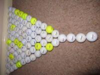 80 GOLF BALLS