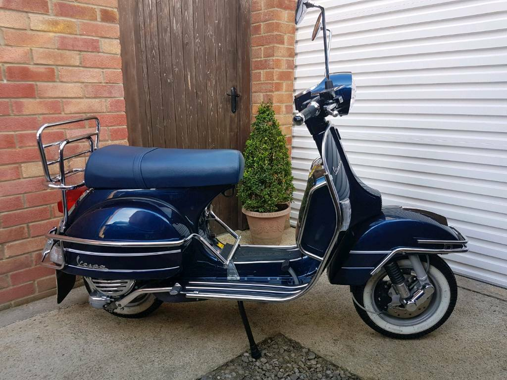 vespa px 125 scooter midnight blue in hartlepool county durham gumtree. Black Bedroom Furniture Sets. Home Design Ideas