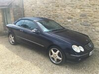 Mercedes CLK320 Convertible - Top Spec - Full MB History
