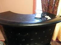 lether bar table