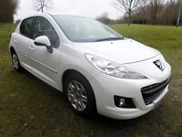 2012 PEUGEOT 207 1.4HDI ACTIVE*WHITE**FINANCE AVAILABLE**£30 TAX*
