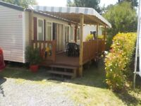 Mobile home 3ch free from 21 to 28/07 950 EUROS WEEK / CAMPING SIBLU LA BONNE ANSE PALMYRE FRANCE