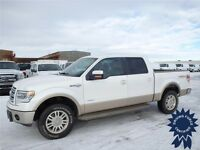 4x4 2013 Ford F-150 King Ranch, Gold On White Two Tone Color