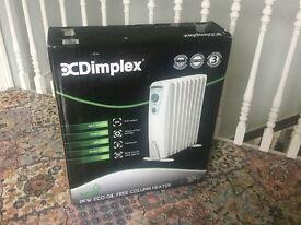 New Dimplex Oil Free, Free Standing Radiator.