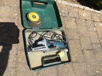 Bosch GW56115 cutter 110v with discs