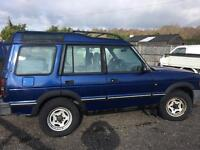 LEFT HAND DRIVE Land Rover discovery 300 tdi Lhd