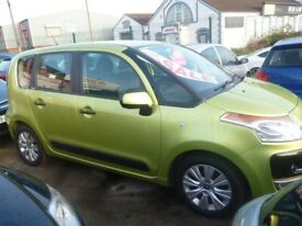 Citroen C3 PICASSO VTR+,new shape 5 door hatchback,runs and drives as new,great mpg,YX59XHO