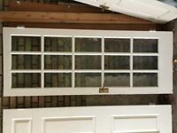 Internal glazed doors