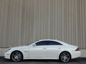 2010 Mercedes-Benz CLS-Class CLS63 AMG IN WHITE