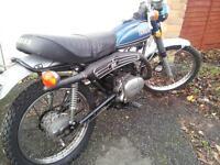 yamaha 125cc at2 enduro