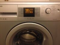 Beko WMB71442S Washing Machine 7kg capacity SILVER - Spare Repair, SWITCHES ON AND TURNS