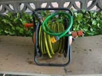 Garden hose and carrier