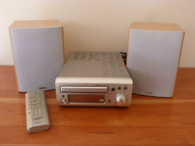 Denon UD-M31 CD Receiver, Speakers and Sony Turntable