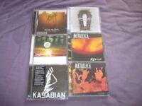 six cds