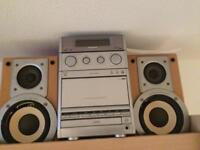 Panasonic cd/tape/fm.am radio